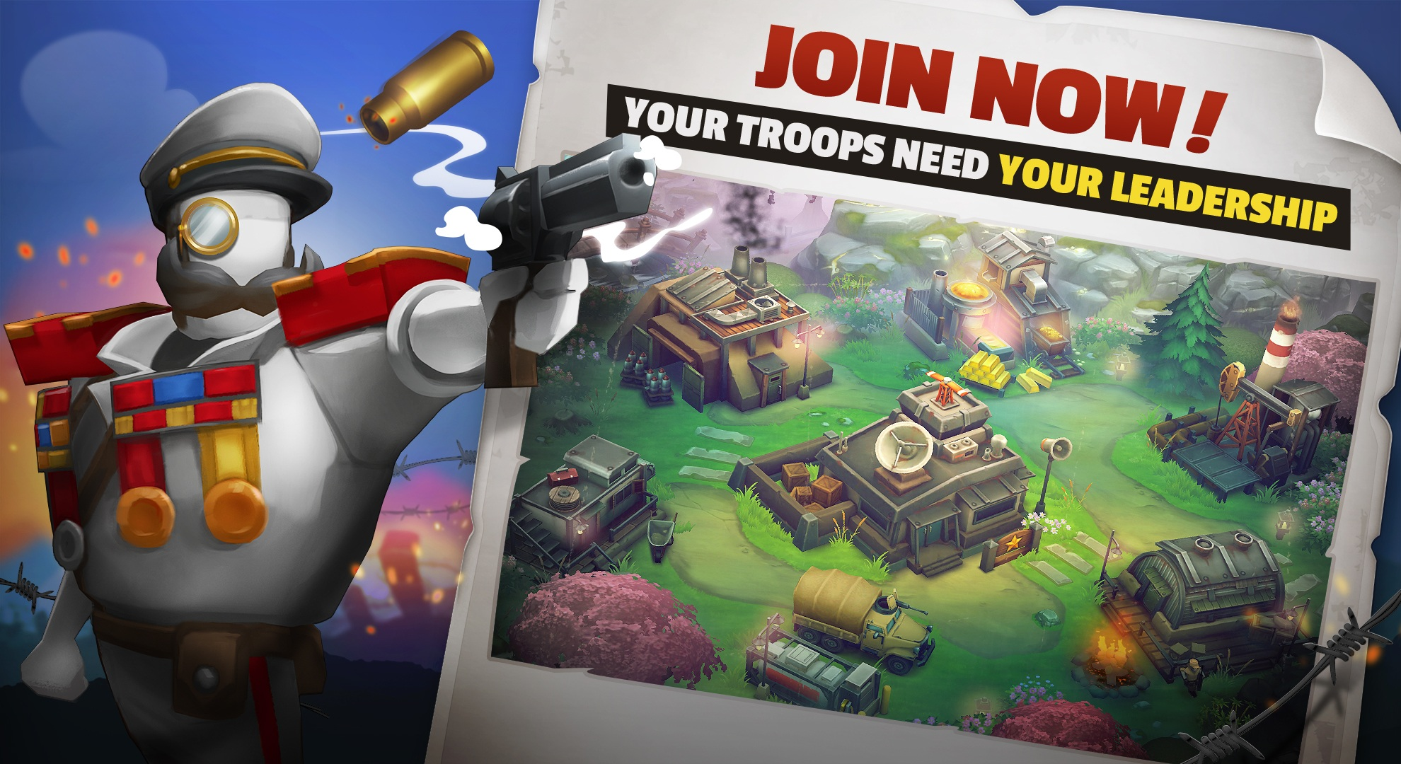 NEW RECRUITS WANTED